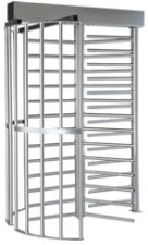 Single Turnstile High Security Series, Stainless Steel, Powder Coated, Galvanized, Full height